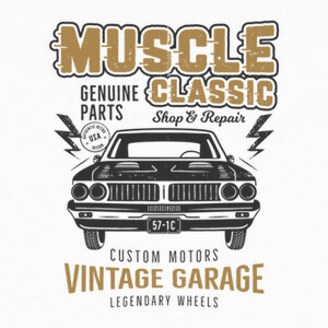 Muscle Classic T-shirts