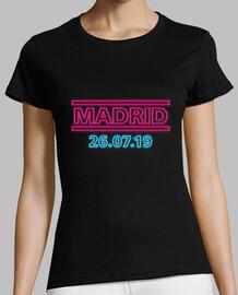 Muse Simulation Theory Tour Madrid Mujer Negro