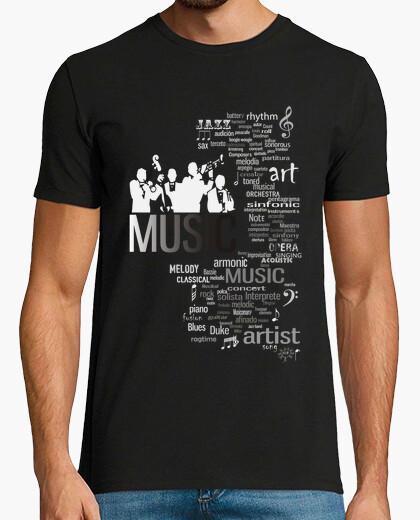 Camiseta MUSIC