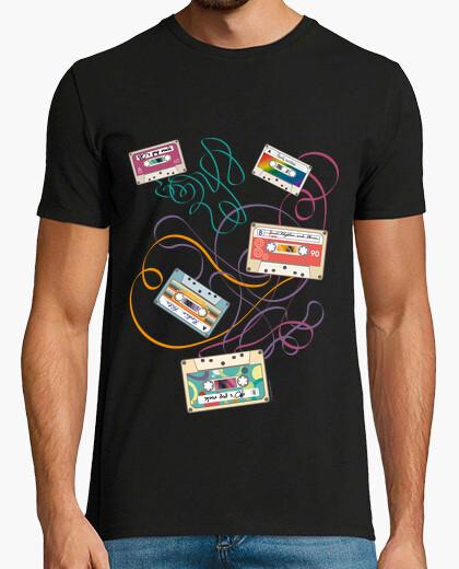 Music - music cassettes t-shirt