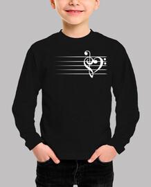 Music Heart - Black Version