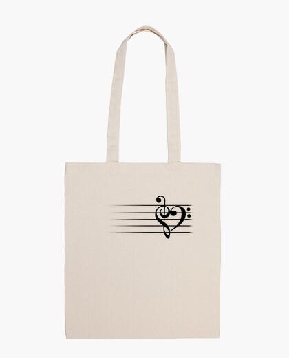 Bolsa Music Heart - White Version