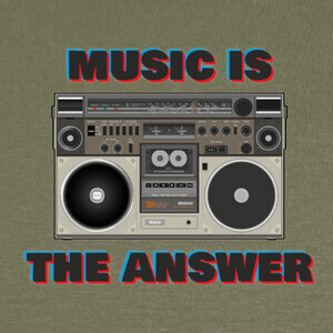 Camisetas Music is the answer