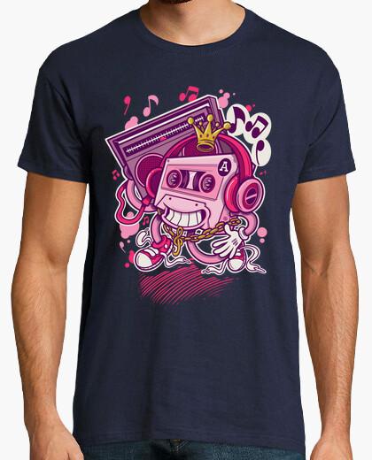Camiseta Music King