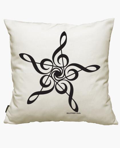 Music star cushion cover