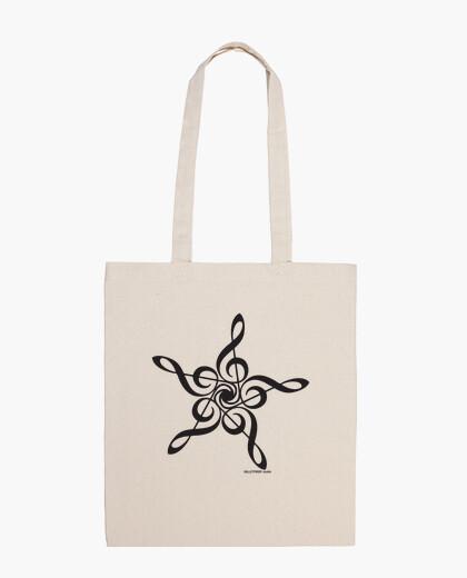 Music star shoulder bag