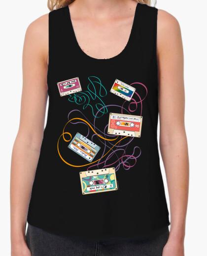 Camiseta Música - Cassettes de música