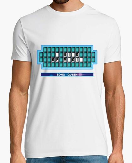 Camiseta Música - TV - Panel misterioso Ruleta - QUEEN