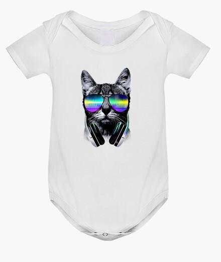 Abbigliamento bambino musica amante dei gatti