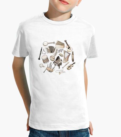 Ropa infantil música! camiseta para niños