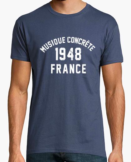 Camiseta música concreta