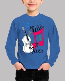 música de jazz con contrabajo