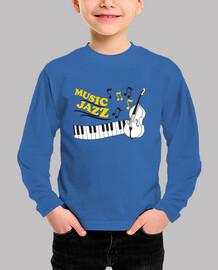 música jazz con piano y contrabajo