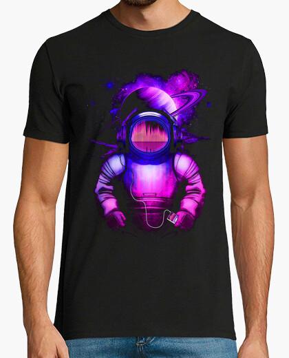 T-shirt musica nello spazio