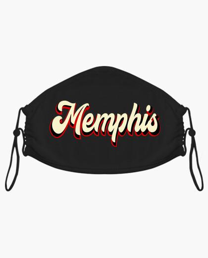 Mascarilla Música Rockabilly Memphis...