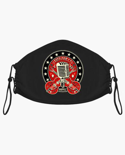Mascarilla Música Rockabilly Nashville...