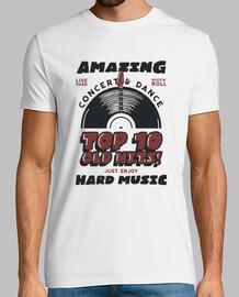 musica rocker vintage t-shirt rock vintage