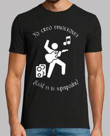musicista - chitarra (bianco)