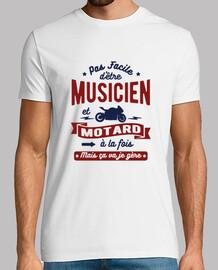 musicista e motociclista