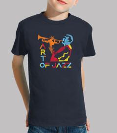 musicista jazz colorato