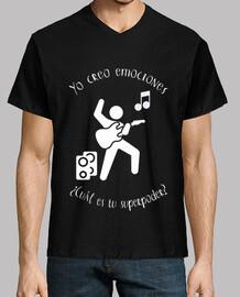 Músico - Guitarra (blanco)
