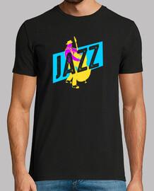 músico de jazz camiseta