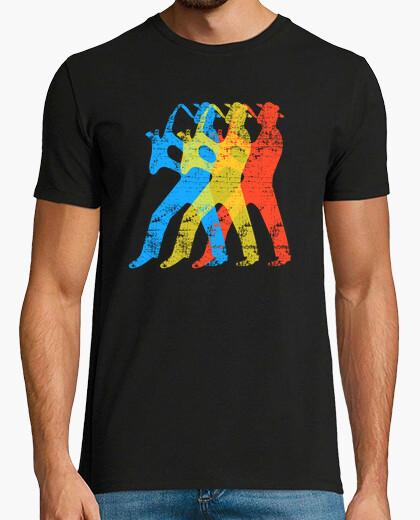 Camiseta músico de saxofón