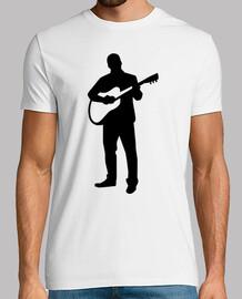 músico guitarrista