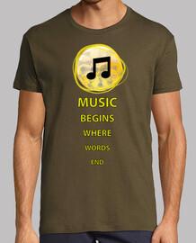 musik beginnt