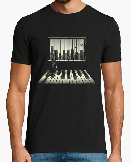 T-Shirt musik ist leben