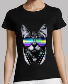 Musikliebhaber Katze