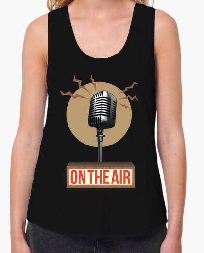 Tee-shirt musique - radio - sur l'air (ii)