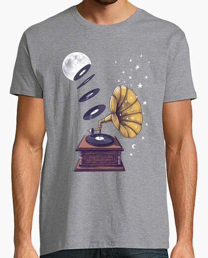 Tee-shirt musique de lune