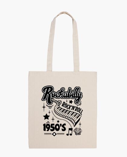 Sac musique rock and roll rétro rockabilly vintage des années 1950 USA rock and roll chaussette hop dans