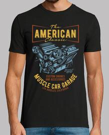 Muskelauto-Garage