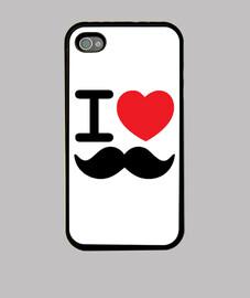 Mustache phone
