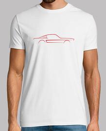 Mustang fastback boceto GT500