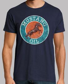 Mustang Oil Horse Vintage Emblem