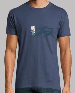 mutter der drachen (spiel thron ) - t-shirt manga kleiner mann
