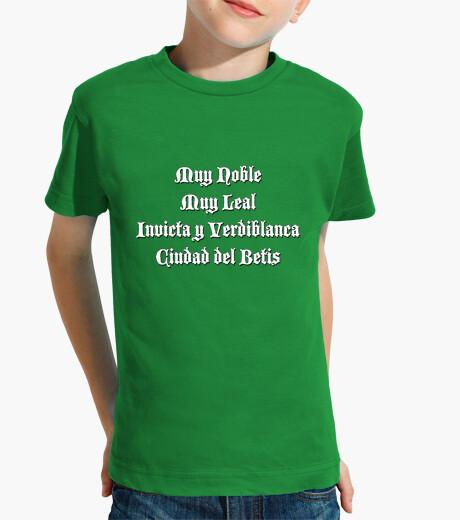 Ropa infantil Muy noble Ciudad del Betis