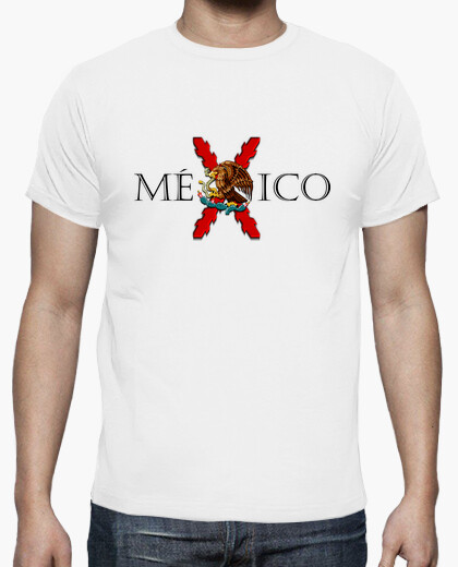 Mxico (combined with cross and eagle) t-shirt