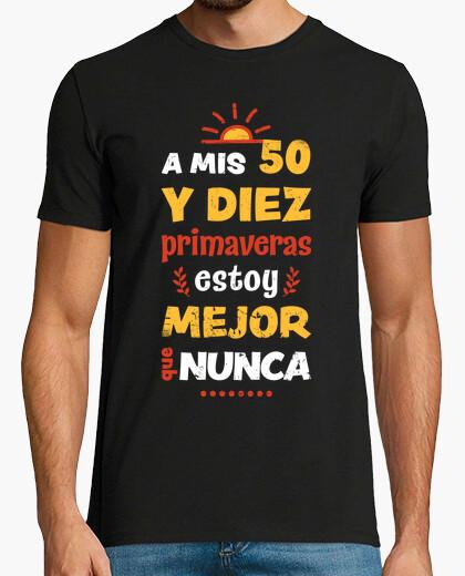 My 50 and ten (60) t-shirt