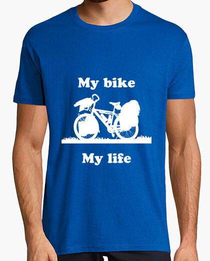 Camiseta My Bike My Life white