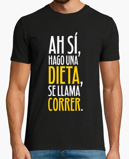 My diet is called run (man) t-shirt
