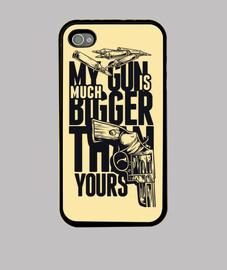 My gun is bigger