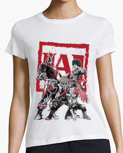 Camiseta My Heroes sumi-e