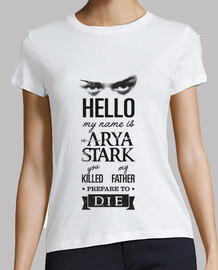 My name is Arya Stark 1