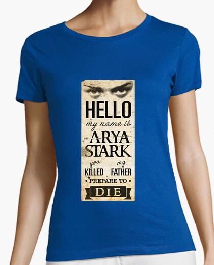 Camiseta My name is Arya Stark 2