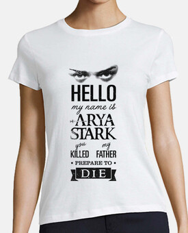 my name is arya stark no. 1
