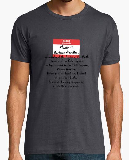 Camiseta My name is Maximus H